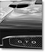 1967 Pontiac Gto Metal Print by Gordon Dean II