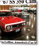 1967 Ss 350 Camaro Scharf Metal Print