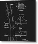 1967 Summers Golf Putter Patent Metal Print