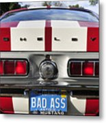1968 Bad Ass Shelby Mustang Metal Print by David Lee Thompson
