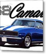 1968 Camaro Metal Print