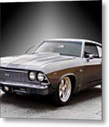1968 Chevelle Super Sport Ll Metal Print