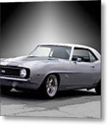 1968 Chevrolet Camaro Ss Ll Metal Print