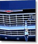1968 Chevrolet Impala Ss Grille Emblem Metal Print