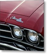 1968 Chevy Chevelle Ss Metal Print