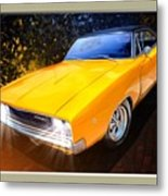 1968 Dodge Charger Coupe Metal Print