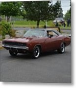 1968 Dodge Charger Grow Metal Print