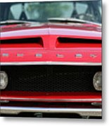 1968 Ford Mustang Shelby Gt500 Kr Metal Print