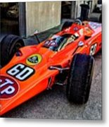 1968 Lotus 56 Turbine Indy Car #60 Angle Metal Print
