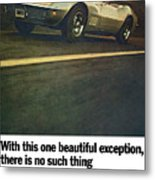 1969 Chevrolet Corvette Metal Print