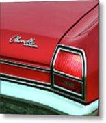 1969 Chevy Chevelle Ss 396 Metal Print