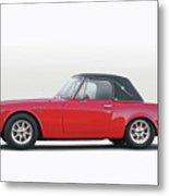 1969 Datsun 2000 Roadster I Metal Print