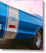 1969 Dodge Coronet Rt Metal Print