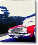1969 Ford Falcon Futura Metal Print