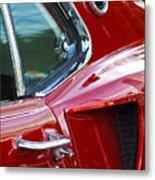 1969 Ford Mustang Mach 1 Side Scoop Metal Print