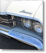 1969 Mercury Montego Mx Grille With Headlights And Logos Metal Print
