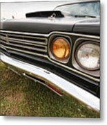 1969 Plymouth Road Runner 440-6 Metal Print