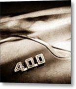 1969 Pontiac 400 Firebird Convertible -1039s Metal Print