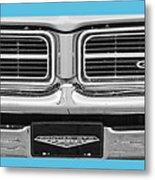 1969 Pontiac Gto  Metal Print