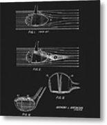 1969 Wood Golf Club Patent Metal Print