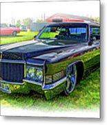 1970 Cadillac Deville - Vignette Metal Print