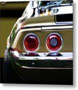 1970 Camaro Fat Ass Metal Print