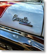 1970 Chevy Chevelle Ss 396 Ss396 Metal Print