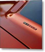 1970 Dodge Challenger Rt 383 Magnum Hood Metal Print