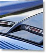 1970 Ford Mustang Gt Mach 1 Hood Metal Print