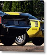 1970 Plymouth 'cuda 440 And Hemi Metal Print