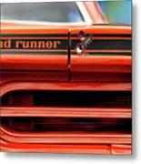 1970 Plymouth Road Runner - Vitamin C Orange Metal Print by Gordon Dean II