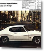 1970 Pontiac Gto The Judge  Metal Print