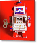 1970s Wind Up Dancing Robot Metal Print