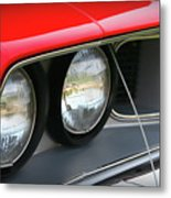 1971 Plymouth Barracuda Cuda Red  Metal Print
