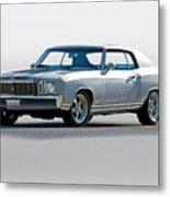 1972 Chevrolet Monte Carlo Metal Print