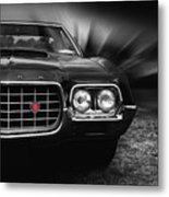 1972 Ford Gran Torino, Sport Fastback Metal Print