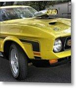 1972 Ford Mustang Mach 1 Metal Print