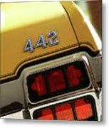 1972 Oldsmobile Cutlass 4-4-2 Metal Print
