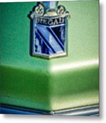 1973 Buick Regal Hood Ornament Metal Print