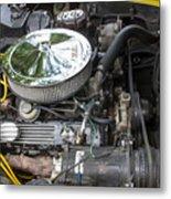 1976 Corvette Sting Ray Original Motor Metal Print