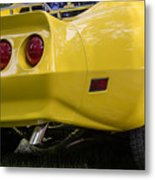 1976 Corvette Stingray Taillights Metal Print