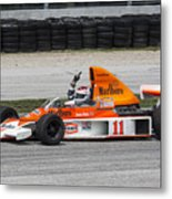 1976 Mclaren M23 F1 At Road America Metal Print