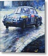1980 Criterium Lucien Bianchi Porsche Carrera Keller Hoss #20 Metal Print