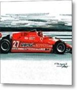 1981  Ferrari 126cx Metal Print