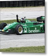 1983 Tyrrell 011 F1 At Road America Metal Print