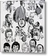 1984 Boston Celtics Championship Newspaper Poster Metal Print