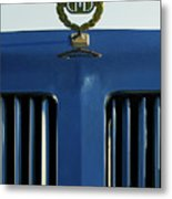 1985 Tiffany Coupe Hood Ornament Metal Print by Jill Reger