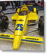 1987 Indianapolis 500 Winner Al Unser Metal Print