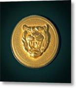1994 Jaguar Xjs Emblem Metal Print by Jill Reger