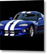 1995 Dodge Viper Coupe I Metal Print